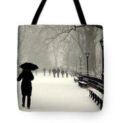 A Winter Stroll Tote Bag