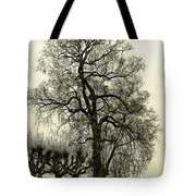 A Winter Touch Tote Bag