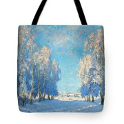 A Winter's Day Tote Bag