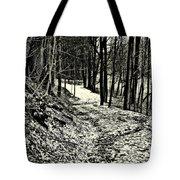 A Winter's Trail Tote Bag