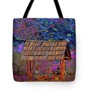 A Wishing Well Pop Art Tote Bag