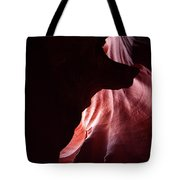 A Wolf In Antelope Canyon Tote Bag