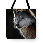 A Wolf 2 Digital Art  Tote Bag