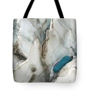 A Woman Sleeping In An Icy Crevasse Tote Bag