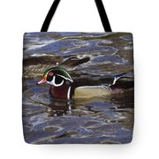 A Wood Duck Pair  Tote Bag