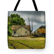 A Workhorse At The Madison Station Tote Bag