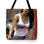 A Working Girl Tote Bag