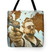 A World Of Pain Tote Bag by Filippo B