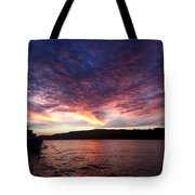 A Wreck Under Tow Tote Bag by Christine Burdine