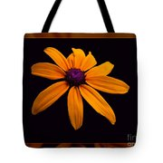 A Yellow Burst Of Sunshine Floral Photography Tote Bag