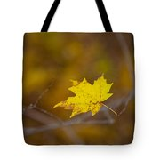 A Yellow One Tote Bag