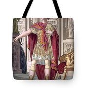 A Young Emperor In His Imperial Armour Tote Bag