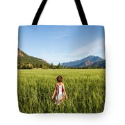 A Young Girl, Daughter Of A Farmer Tote Bag