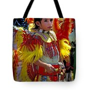 A Young Warrior Tote Bag