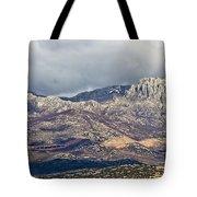 A1 Highway Croatia Velebit Mountain Road Tote Bag
