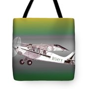 A1a Husky Aviat Airplane Tote Bag