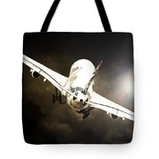 A340 Takeoff Tote Bag