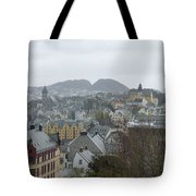 Aalesund From Above Tote Bag