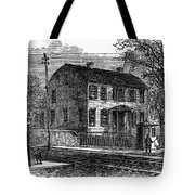 Aaron Burr Birthplace Tote Bag