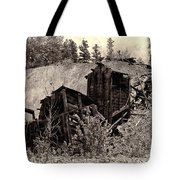 Abandon Montana Mine Tote Bag