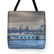 Abandon Ship Tote Bag