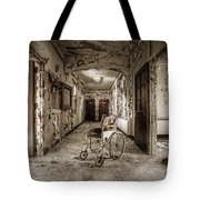 Abandoned Asylums - What Has Become Tote Bag by Gary Heller