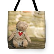 Abandoned Bear Tote Bag