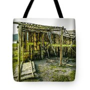 Abandoned Bird Observatory  Tote Bag by Fabio Giannini