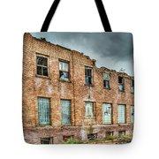 Abandoned Brick Building Tote Bag
