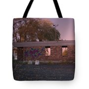 Abandoned Building In France Tote Bag