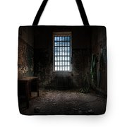 Abandoned Building - Old Room - Room With A Desk Tote Bag