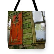 Abandoned Cabin Elkmont - Coming Down Clover Tote Bag