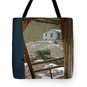 Abandoned Cabin Elkmont Smoky Mountains - Screened Door Old House Tote Bag