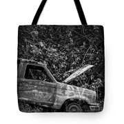 Abandoned Car Road To Hana Maui Tote Bag