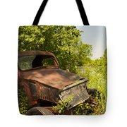Abandoned Car Tote Bag