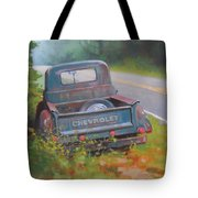 Abandoned Chevy Tote Bag