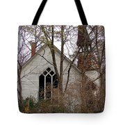 Abandoned Church Tote Bag