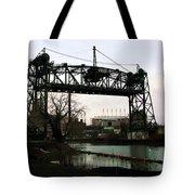 Abandoned Eagle Ave Bridge Tote Bag