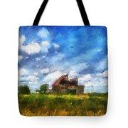 Abandoned Farm 03 Photo Art Tote Bag