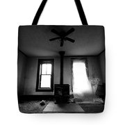 Abandoned Fireplace Tote Bag by Cale Best
