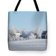 Abandoned Frost Farm Tote Bag