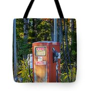 Abandoned Gas Pump Tote Bag
