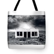 Abandoned Gas Station In Nm Tote Bag