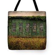 Abandoned Green Sugar Mill Building Dsc04353 Tote Bag