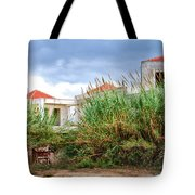 Abandoned Holiday Resort Tote Bag