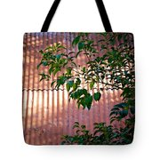 Abandoned Home Abstract Tote Bag