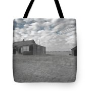 Abandoned Homestead Series Selective Color Tote Bag