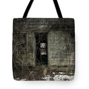 Abandoned House - Enter House On The Hill Tote Bag