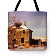 Abandoned House Tote Bag by Jeff Swan