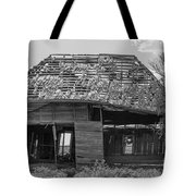 Abandoned In Black And White Tote Bag